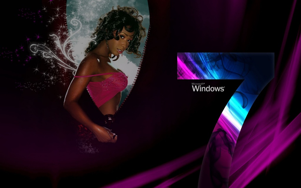 Animated window 7 wallpaper