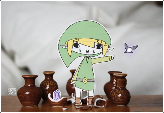 Beautiful and Happy Examples of Papercraft (1)