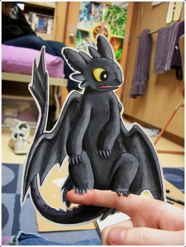 Beautiful and Happy Examples of Papercraft (8)