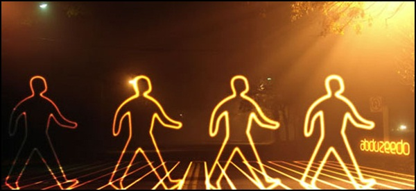 Create a Glowing Light Painting Effect