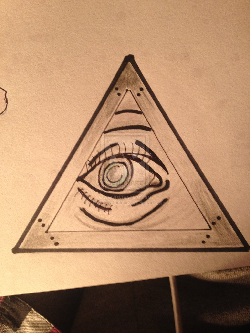 Eye Tattoo Design