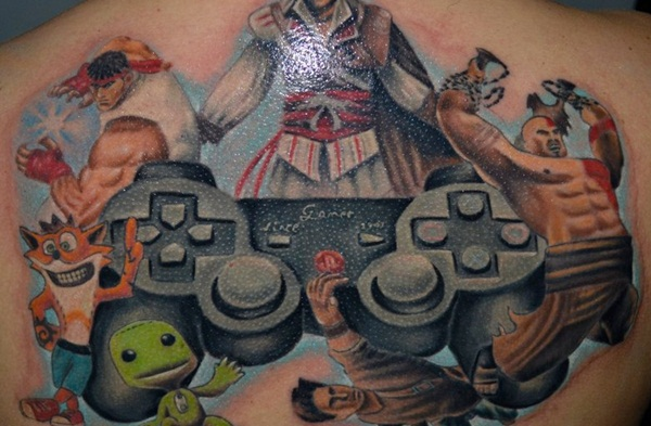 Games Tattoos (30)