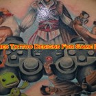 40 Games Tattoo Designs For Game Lovers