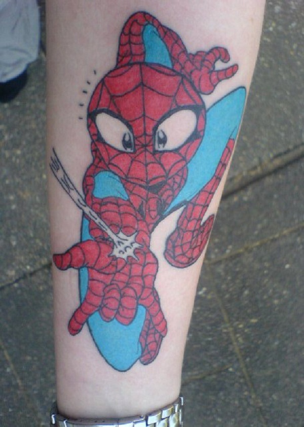 Spiderman Tattoo Designs