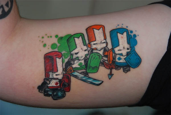 Games Tattoos (5)