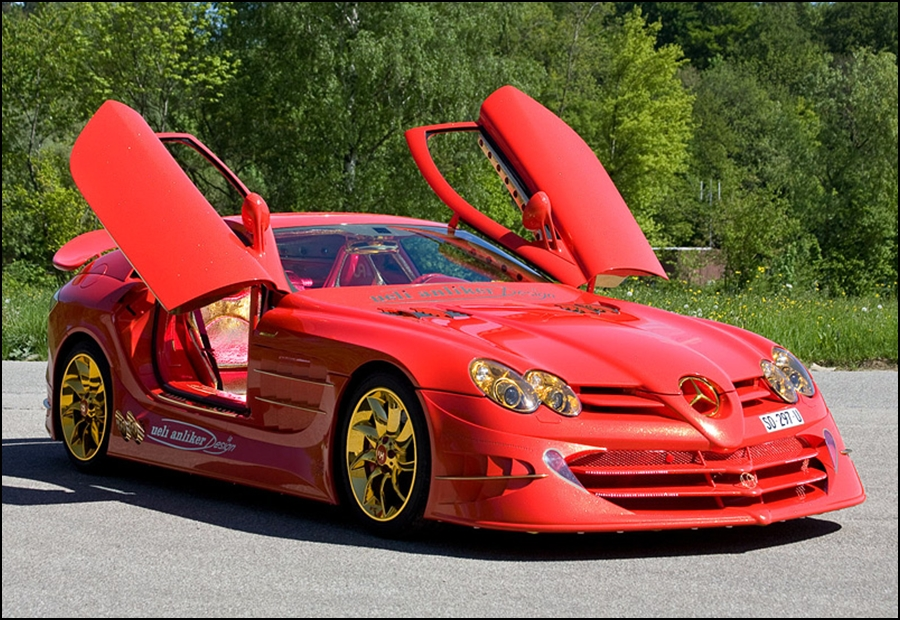 2011 Mercedes-Benz SLR McLaren 999 Red Gold Dream Ueli Anliker