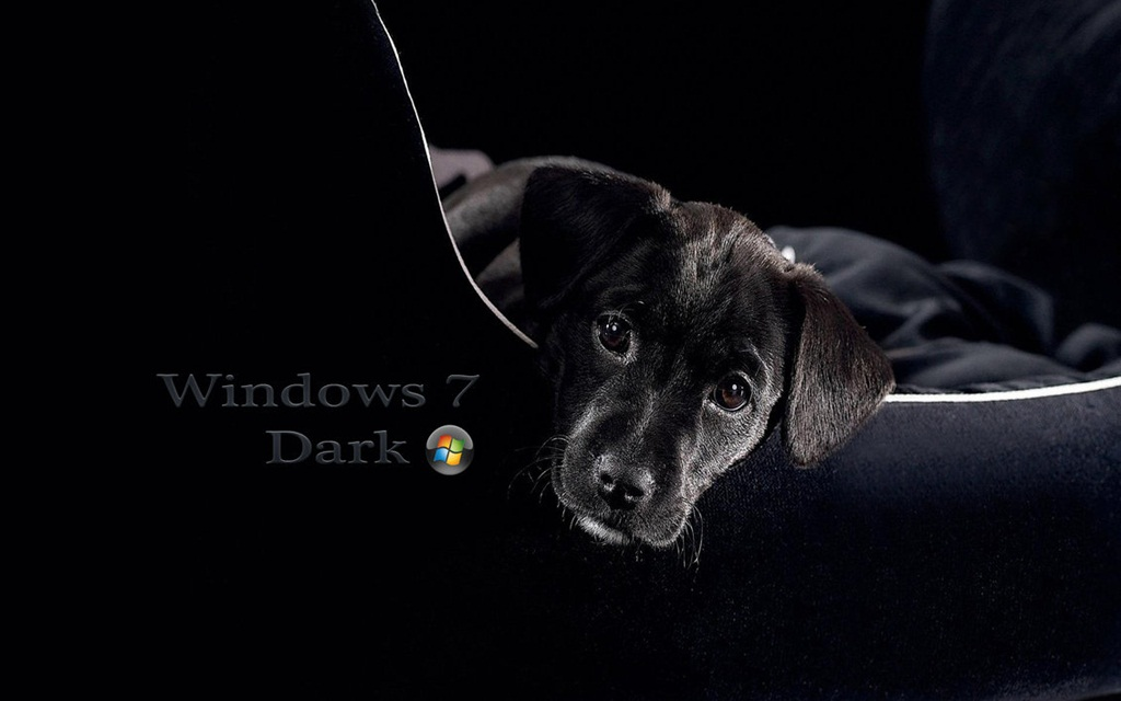 Window 7 Dark Wallpaper