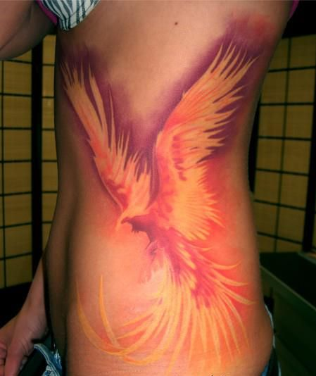 phoenix Tattoos For Girls2