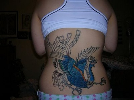 sexy_Phoenix_Tattoo_back_girl_tattoo_girly