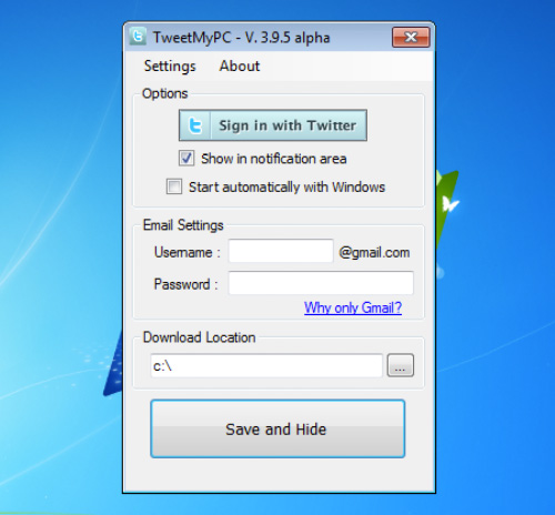 tweetmypc-sign-in