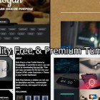 25 High Quality Free & Premium Tumbler Themes
