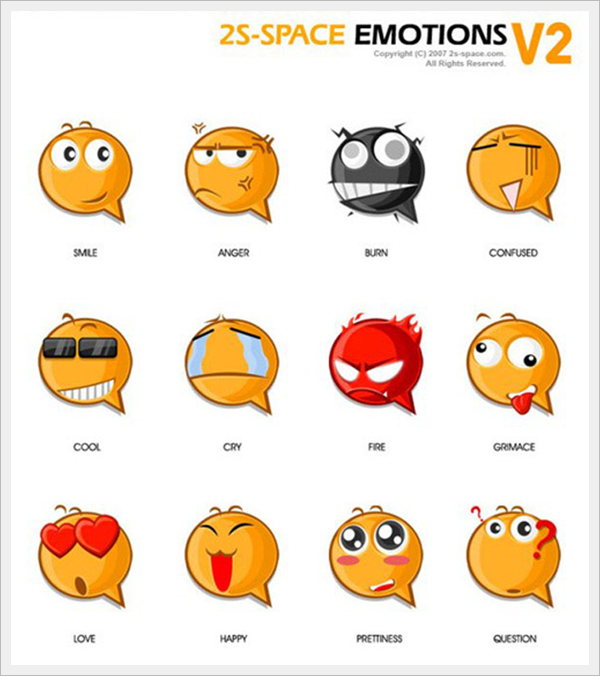 2s-Space Emotions v2.0