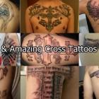 35 cool & Amazing Cross Tattoos For Men