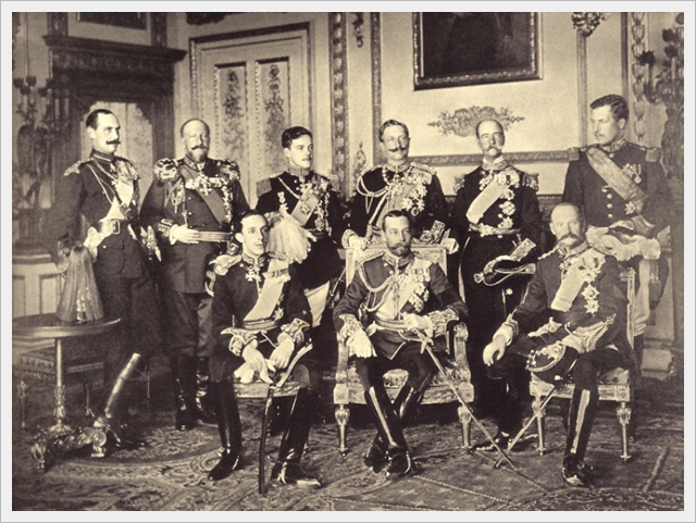 9 Kings in Windsor Castle (May 20th, 1910)
