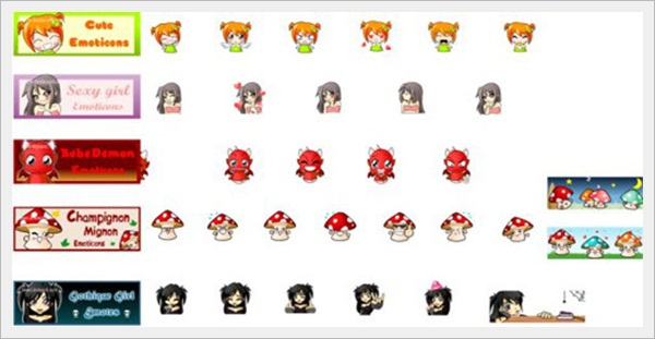 Emoticons Pack