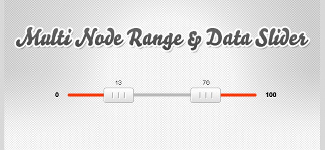 Free Multi-Node Range and Data Slider JQ Slider