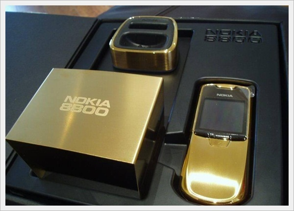 Gold Edition Nokia 8800