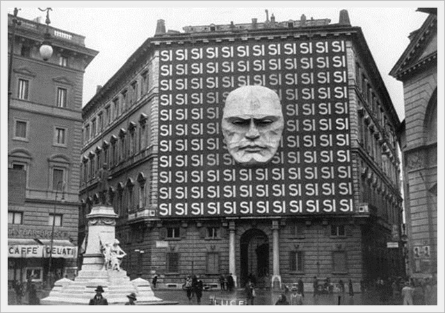 Headquarters of Benito Mussolini and the Italian Fascist Party (1934)