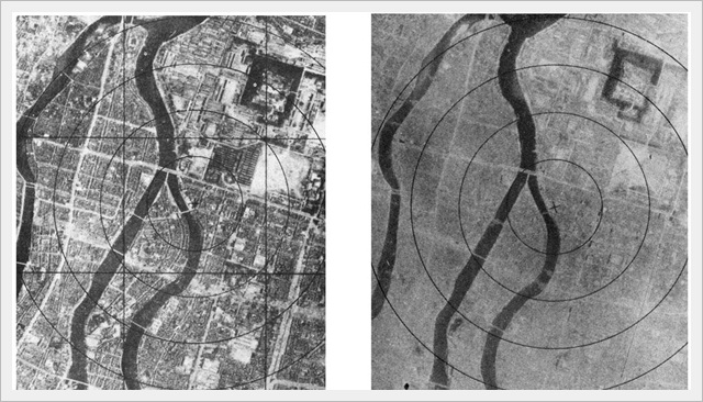 Hiroshima - Before and After (1945)