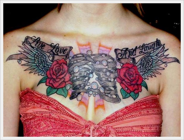 My chest piece