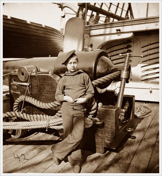 'Powder Monkey' on the USS New Hampshire (1864)