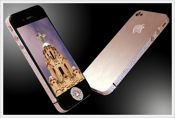 Stuart Hughe's iPhone Diamond Rose Edition