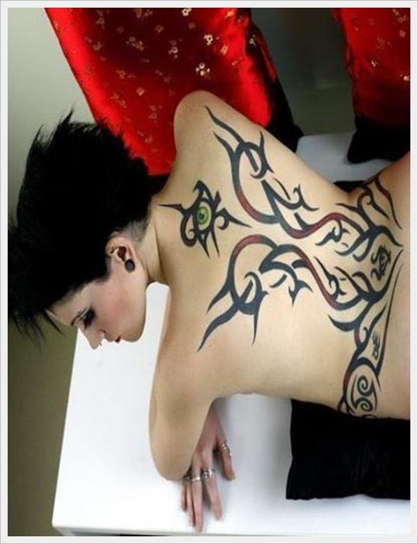Tribal Tattoo Designs for girls (18)