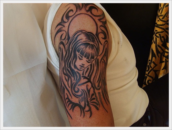 Tribal Tattoo Designs for girls (2)