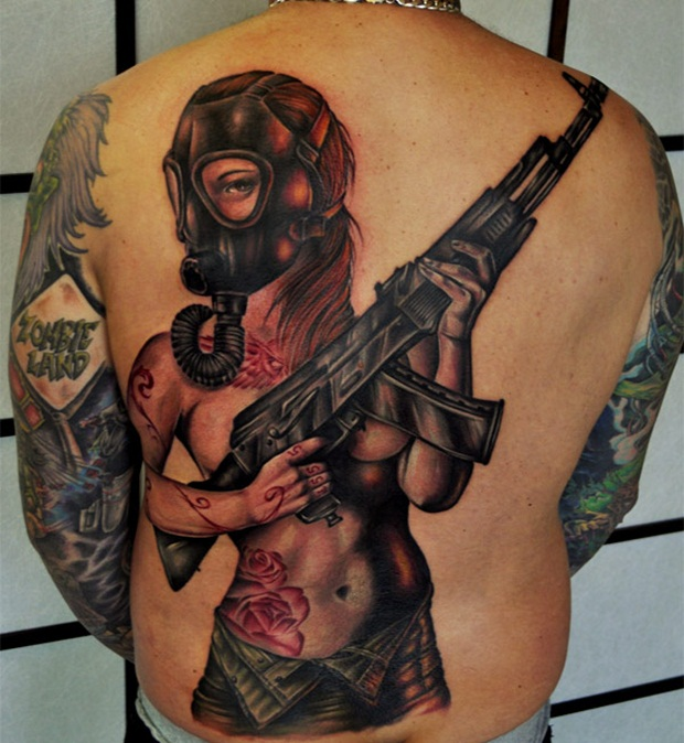 Weapon Tattoos (29)