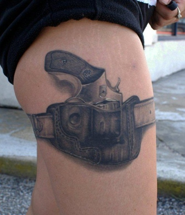 Weapon Tattoos (3)