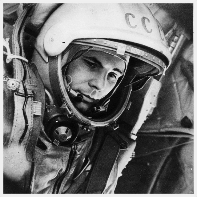 Yuri Gagarin, first man in space (1961)