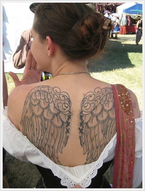 back tattoos for girls 12