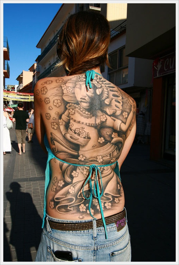 back tattoos for girls 2