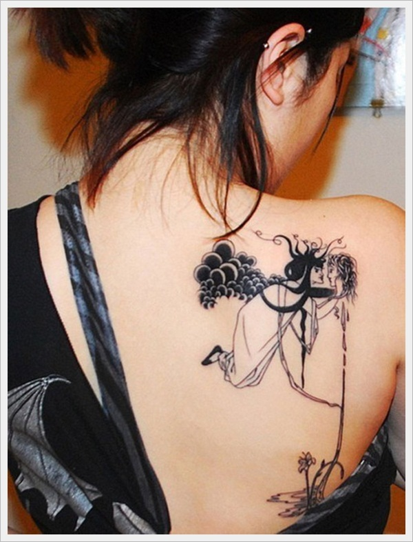 back tattoos for girls 26