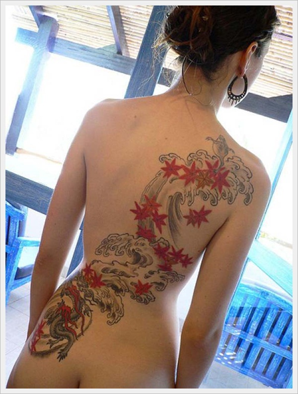 back tattoos for girls 47