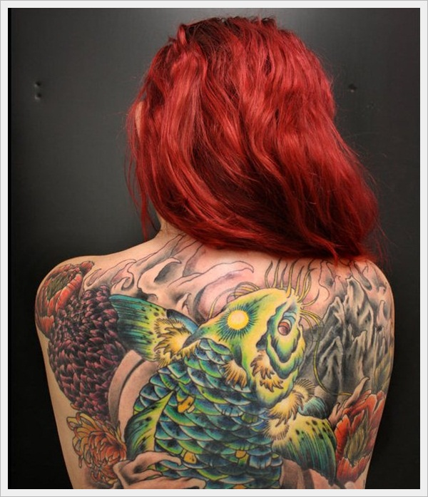 back tattoos for girls 48