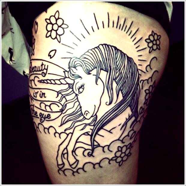 unicorn tattoo designs (12)