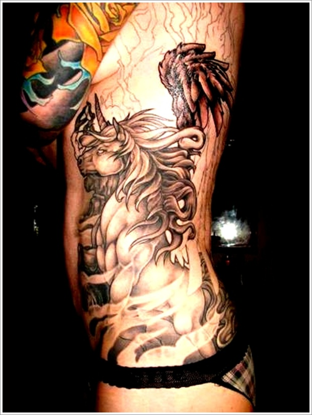 unicorn tattoo designs (14)