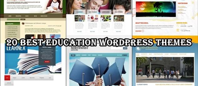 20 Best Education WordPress Themes