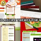20 Food and recipe Themes For WordPress