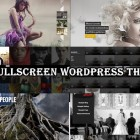 20 Fullscreen Wordpress Themes