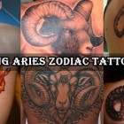 30 Amazing Aries Zodiac Tattoo Designs
