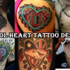 30 Cool Heart Tattoo Designs