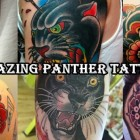 30 Most Amazing Panther Tattoo Designs