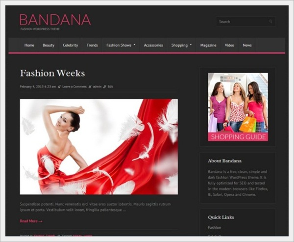 Bandana WordPress Theme