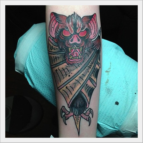 Bat Tattoo Designs (24)