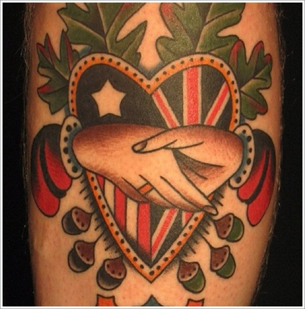 Heart tattoo designs (16)
