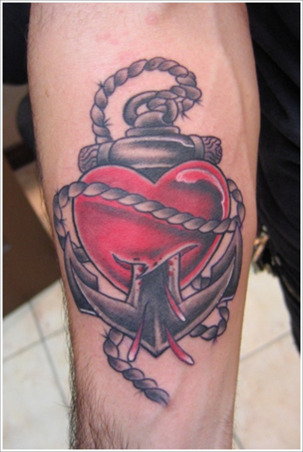 Heart tattoo designs (17)