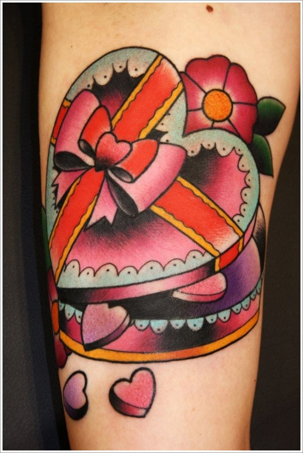 Heart tattoo designs (5)