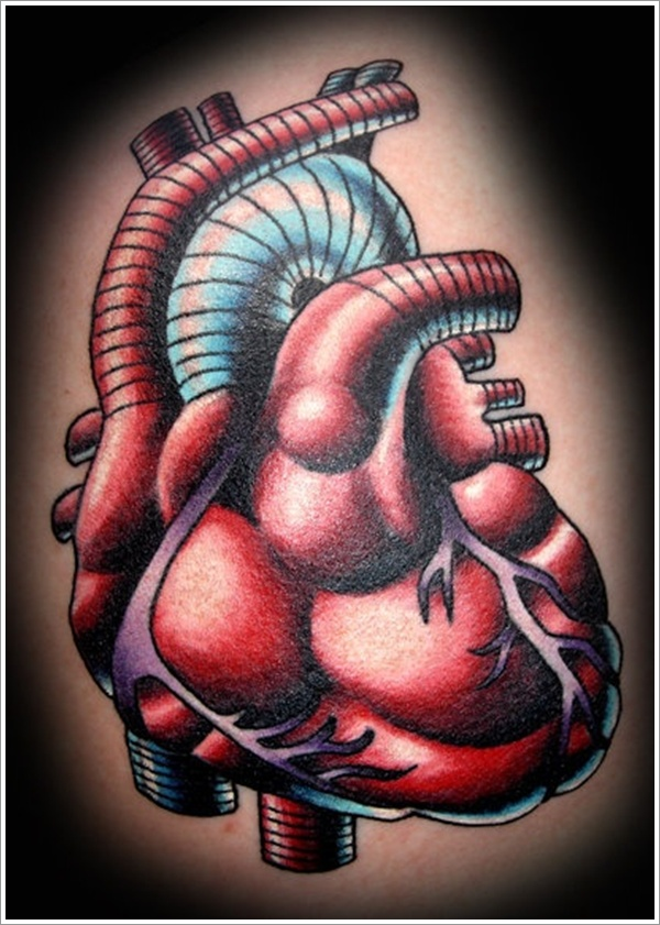 Heart tattoo designs (7)